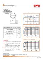 CR2477 3.0 v 1000 mAh diam 24.50 x 7.7 mm