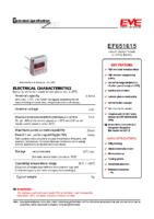 EF651615 LTC-3PN 3.6 v 0.40 Ah 16.80 x 7.00 x 15.80 mm