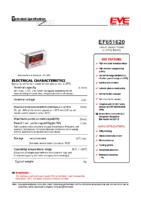 EF651620 LTC-5PN 3.6 v 0.55 Ah 16.80 x 7.00 x 10.40 mm Atex