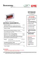 EF702338 LTC-16M 3.6 v 1.70 Ah 7.50 x 23.30 x 38.90 mm Atex