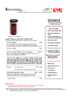 ER34615 3.6 v 19 Ah 61.50. x 33.10 mm Atex